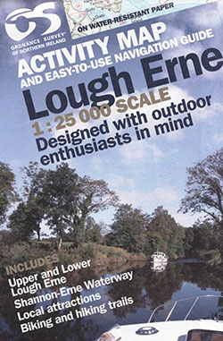 Lough Erne Activity Map and Easy-To-Use Navigation Guide