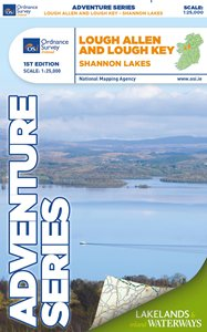 Lough Allen & Lough Key Ordnance Survey Adventure Series Map