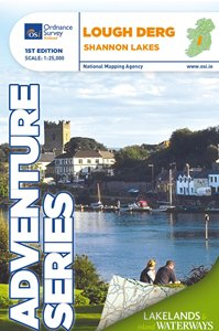 Lough Derg Ordnance Survey Adventure Series Map